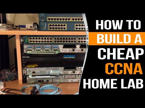 How to build a CHEAP Cisco CCNA Home Lab