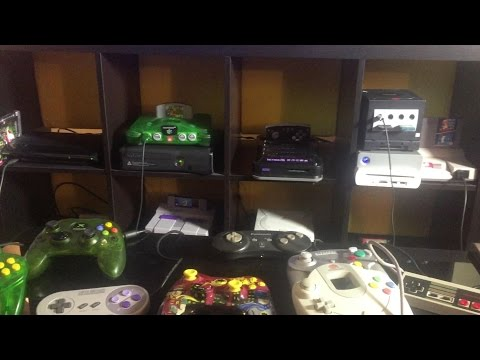Mike's Game Room Tour / Setup 2015
