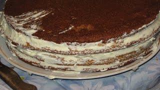 Торт Нежный. Рецепт с фото (нежный шоколадный торт)