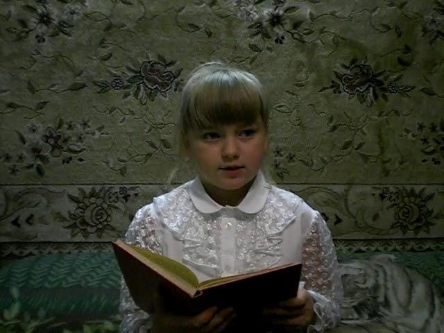 Изображение предпросмотра прочтения – ВероникаСергеева читает отрывок изпроизведения «Бежин луг» И.С.Тургенева