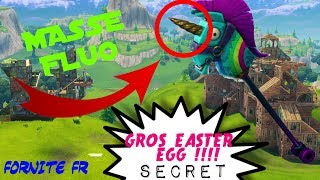 The HUGE SECRET OF THE FLUO MASS! [FORTNITE EN]
