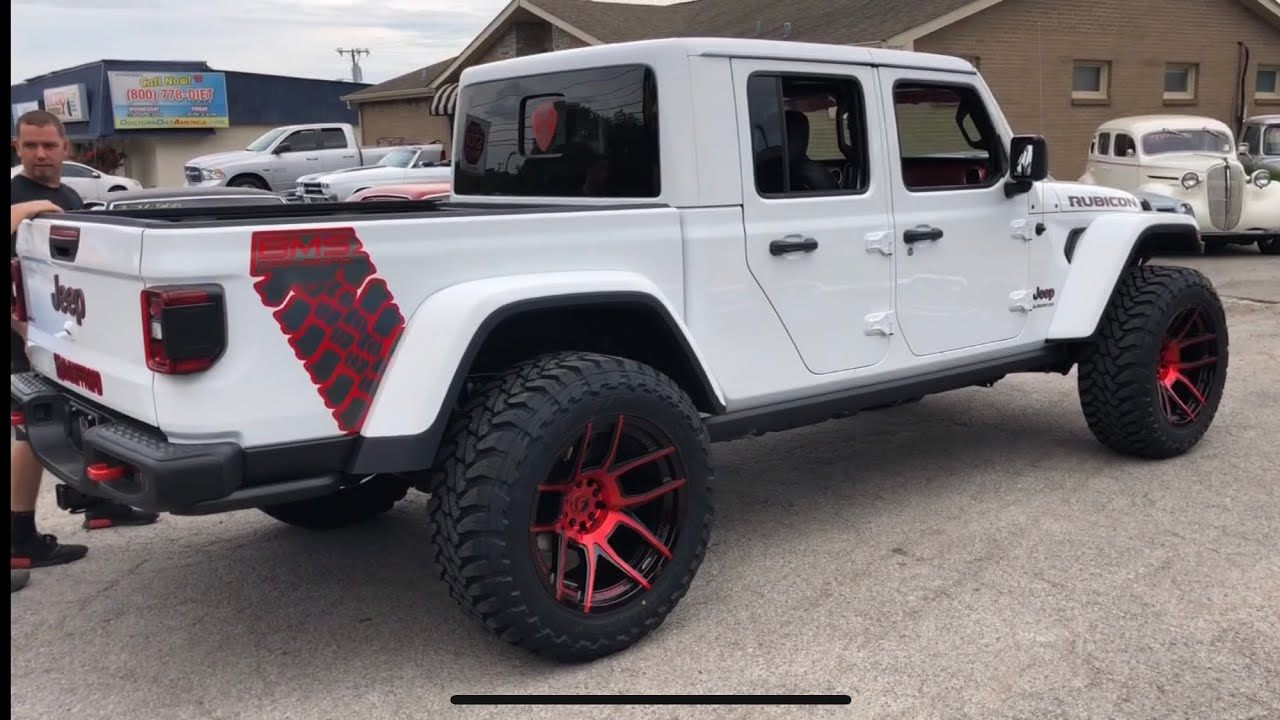 BMS Custom Jeep Gladiator - YouTube