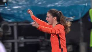 Netherlands Germany women International friendly 24 02 2021 SECOND HALF