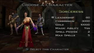 Heroes of Might and Magic Quest for the Dragonbone Staff Hero Select Theme (2001, 3DO/NWC)