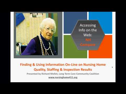 LTCCC Program Finding and Using Nursing Home Compare Quality and Staffing Info