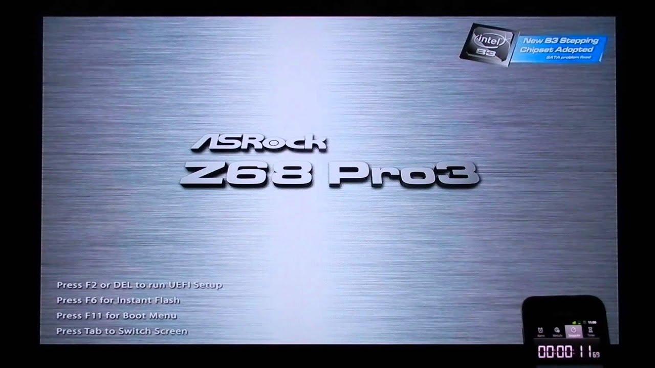 Asrock Z68 Pro3-M Boot Drivers Download Free