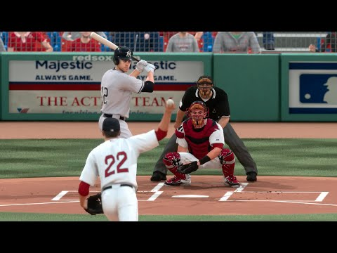 MLB 15 The Show (PS4) Red Sox vs Yankees Gameplay