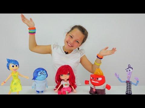 ГОЛОВОЛОМКА: Игрушки из мультфильма, ШАРЛОТТА ЗЕМЛЯНИЧКА и Настя. Знакомимся с эмоциями!