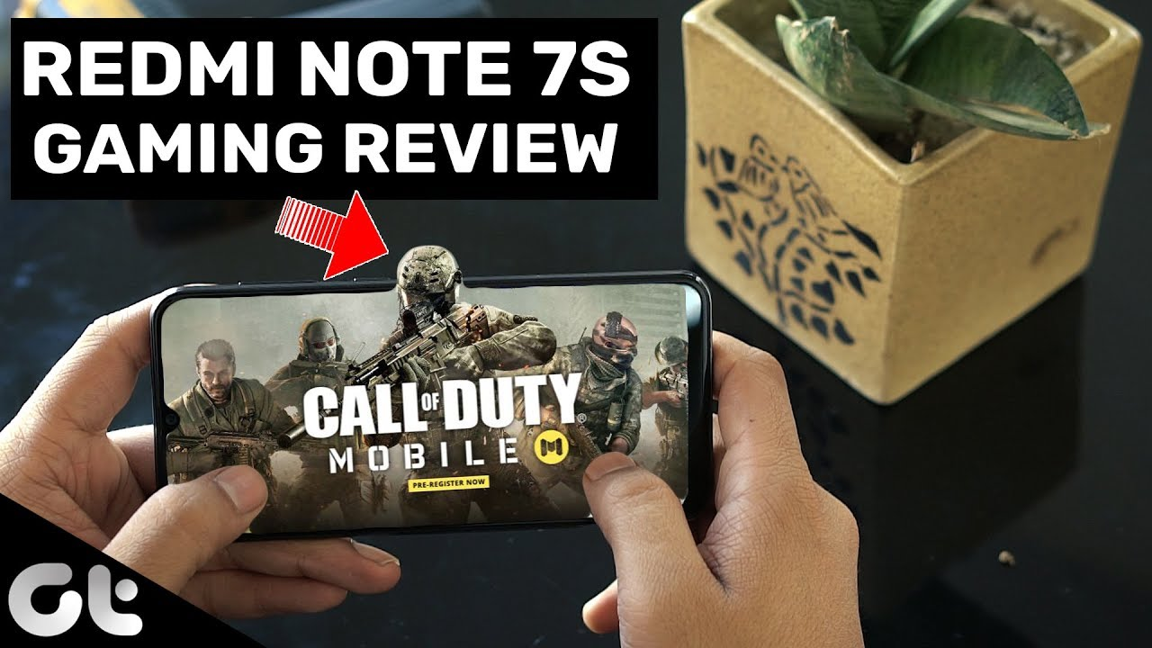 Redmi Note 7S Gaming Review with Call of Duty & PUBG (60 FPS) | GT Gaming