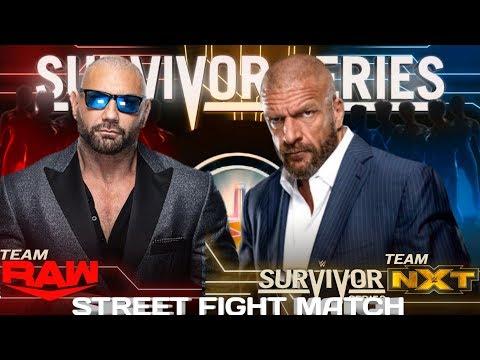 WWE 2K20 Universe Mode- Survivor Series Highlights