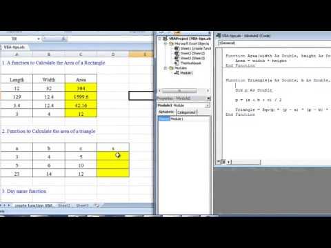 [EL] Tạo các mới hàm bằng VBA