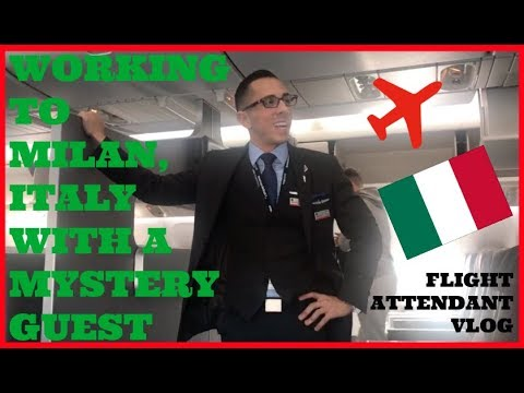 INTERNATIONAL FLIGHT ATTENDANT | WORKING BUSINESS CLASS TO MILAN, ITALY | FLIGHT ATTENDANT LIFE