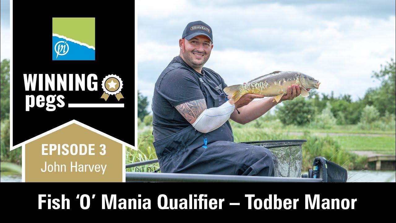 HOW I CAUGHT 322LB! | Winning Pegs - Ep. 3 | John Harvey | Todber Manor Fishery