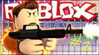 NOVO sucesso de fuga da prisão Roblox! Mais a primeira vez jogando Roblox! Roblox # 1