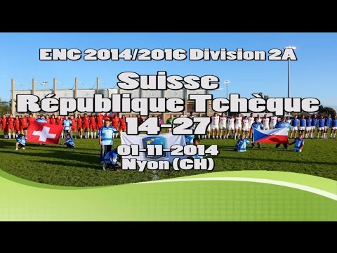 ENC2A - 01.11.2014 Suisse - Czech Republic 14-27