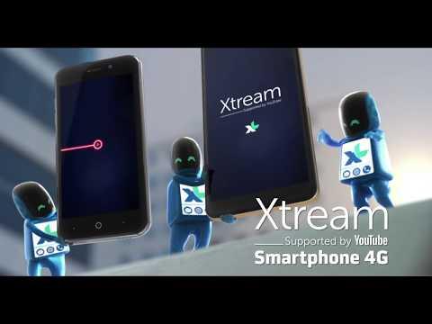 Baru! Xtream Smartphone 4G JADIBISA Unlimited Streaming YouTube, juga Netflix & iflix 24 jam