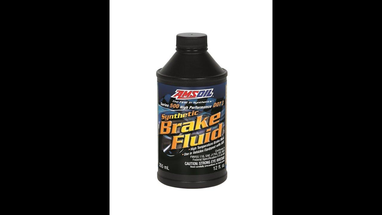 Dot 5 Brake Fluid >> AMSOIL BF3 DOT 3 & BF4 DOT 4 Synthetic Brake Fluids - YouTube