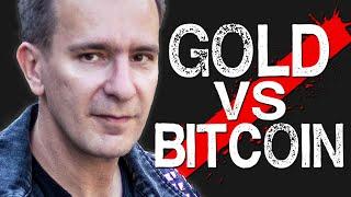 Vorbereitung auf den Crash: Gold kaufen oder Bitcoin?