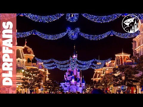 Christmas 2017 Decorations and Atmosphere at Disneyland Paris