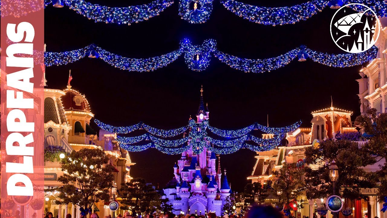 christmas 2017 decorations and atmosphere at disneyland paris - Disneyland Christmas Decorations