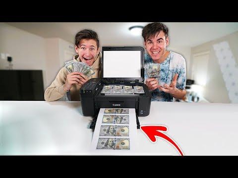I Photocopied Money & Went Shopping With It...