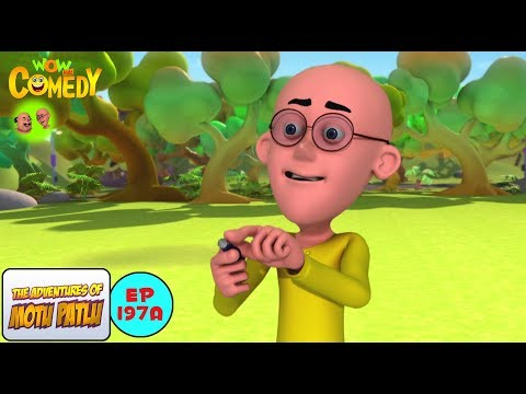Shrinking Machine - Motu Patlu in Hindi - 3D Animated cartoon series for kids - As on Nick thumbnail