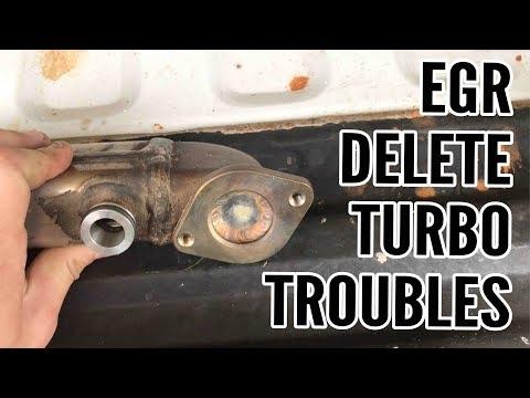 6.0 Powerstroke - EGR Delete, Turbo Troubles