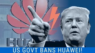 Huawei Banned - No Android Updates No 5g  Intel Andamp Qualcomm Ban