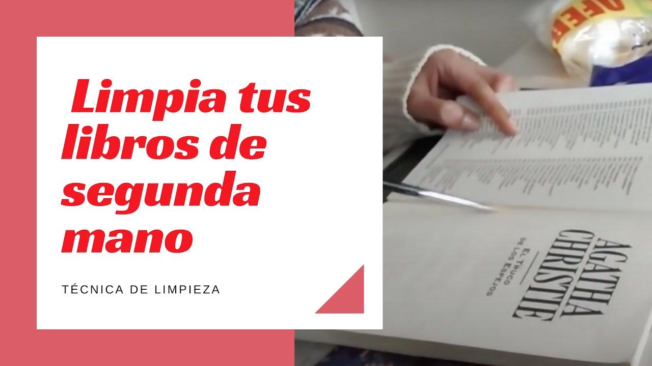 Libros de segunda mano limpieza youtube - Libreria segunda mano online ...