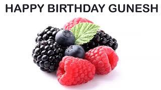 Gunesh   Fruits & Frutas - Happy Birthday