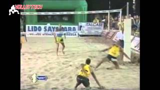 The best best point in the history of beach volleyball? by Giorgio Pallotta-Italy