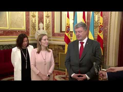 Коментар Президента України та Голови Конгресу депутатів Іспанії