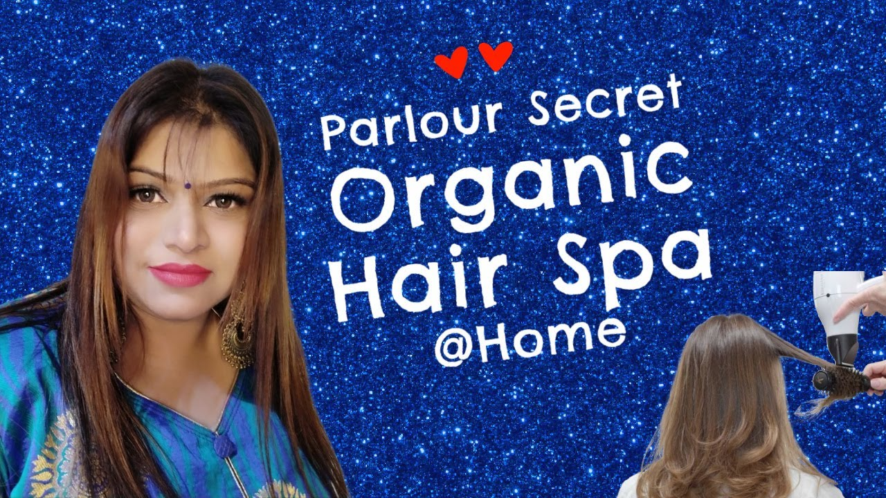 Parlour Secret Organic Hair spa At Home // Hair Spa for Frizzy, Dry and Damage Hair //  TIO TV 📺