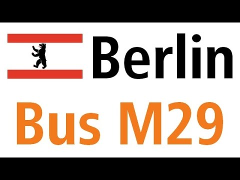 Berlin bus M29: Grunewald Roseneck - U Hermannplatz