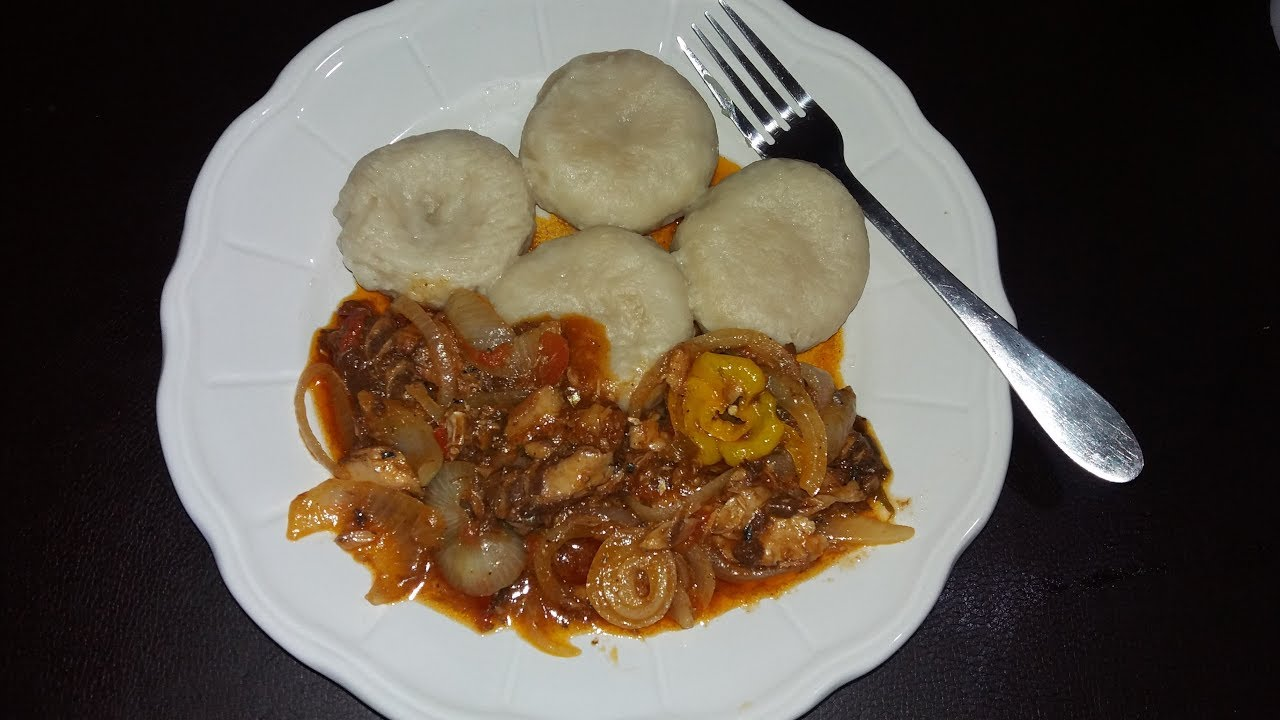 tin mackerel and flour dumpling  jamaican style   youtube
