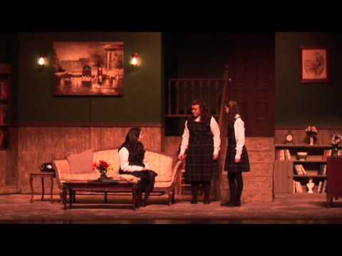 The Children's Hour- Mary Kitten/Leaving Scene, Act 1