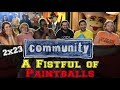 Community - 2x23 - A Fistful of Paintballs - Group Reaction
