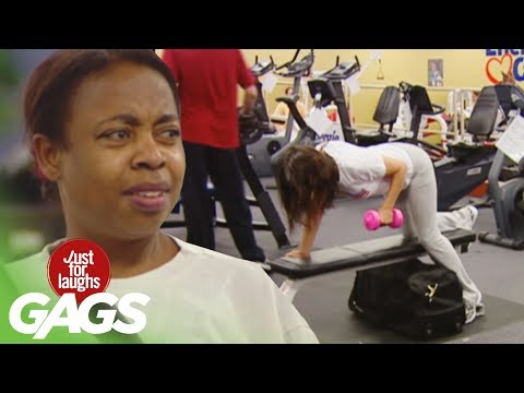 Best Gym Pranks - Best of Just for Laughs Gags