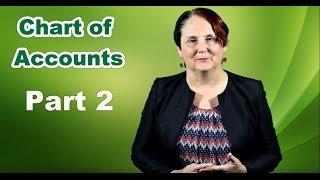 Chart of Accounts (2 of 3)