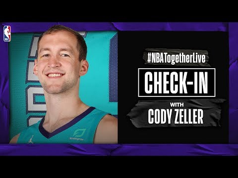 #NBATogetherLive Check-In With Cody Zeller | COVID-19