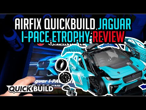 AIRFIX® J6033 QuickBuild Jaguar I-PACE eTROPHY Stecksystem