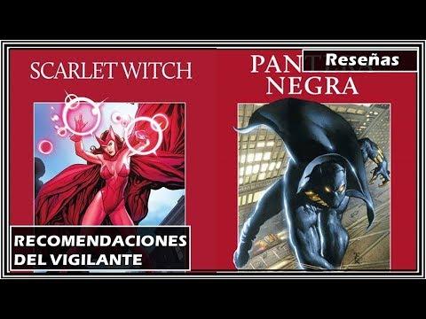 Scarlet Witch - Pantera Negra | Recomendaciones del Vigilante