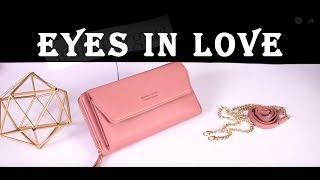 Видеообзор женского клатч eyes in love