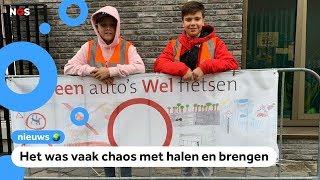 Proef: auto's verboden bij school in Den Haag