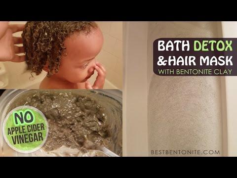Bentonite Clay Hair Mask & Bath Detox for Toddlers - YouTube