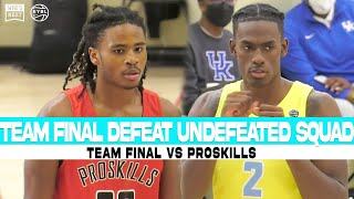 Team Final Takes Down Undefeated Pro Skills To Land A Spot In The Peach Jam Final 4