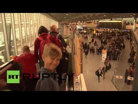 Germany: Outrage as strike leaves passengers stranded in Frankfurt