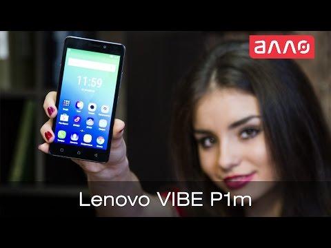 Видео-обзор смартфона Lenovo Vibe P1m