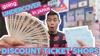 INSIDE Japan SECRET Discount Ticket Shops | Kinken Shops