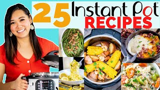 25 of the BEST things to make in the Instant Pot - What I make over and over!